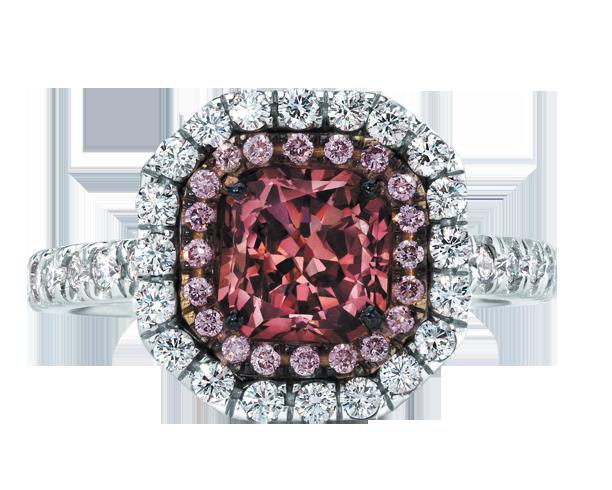 钻石戒指展示1