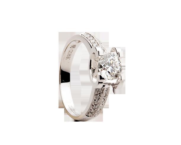 钻石戒指展示8