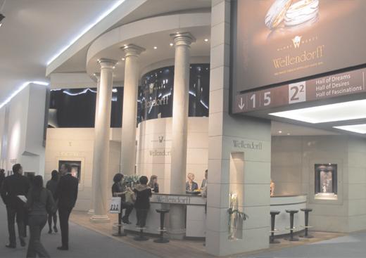 碧罗珠宝参加2012第40界巴塞尔钟表珠宝展